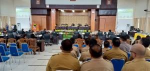 Rapat Paripurna Penetapan Renja DPRD 2019