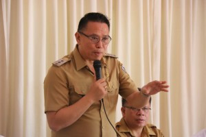 Wali Kota Tomohon Jimmy F Eman SE Ak