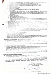 Pengumuman Tentang Pengajuan Bakal Calon Anggota Dewan Perwakilan Rakyat Daerah (DPRD) Kota Tomohon Dalam Pemilu Tahun 2019