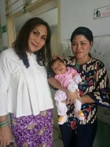Bayi  Lembeh , Dinsos Provinsi Sulut,  Khouni Lomban Rawung