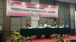 Bimtek Perencanaan Pembangunan Daerah, penyusunan renstra , penyusunan renja