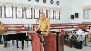 Ibadah Oikumene, DR. S.W. Siagian,