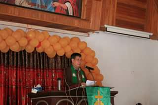 GS Vicky Lumentut ,  GMIM Imanuel Kahuku, Likupang Timur,