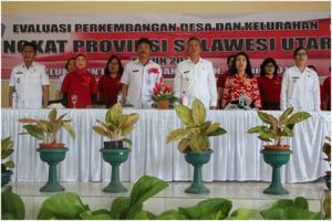 Kawangkoan Bawah dan Teep Wakili Minsel di Lomba Desa Tingkat Provinsi Sulut