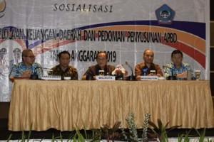 Aset Pemkot Bitung, Maximiliaan J Lomban, bimtek Pengelolaan Keuangan Daerah , Pedoman Penyusunan APBD