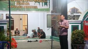 safari ramadhan pemkab minahasa,  Polres Minahasa, Masjid Nurul Yaqin, Masjid Alhaq ,Masjid Al Hijrah