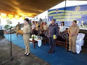 FKT Minsel, Forum Pengurus Karang Taruna,  Christiany Eugenia Paruntu,