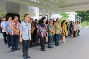 Pimpin Apel, Wali Kota Tomohon Tegaskan Sanksi bagi ASN Tambah Libur