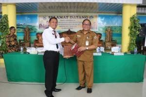 Sekretaris Kota Tomohon dan peserta Diklat PIM III Provinsi Bali