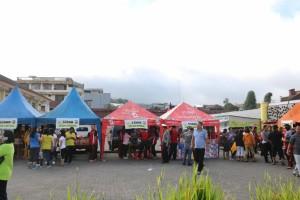 Bazar Murah yang digelar di Pusat Kota Tomohon