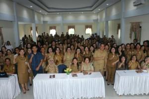 Wali Kota bersama Kadis Dikbud dan peserta pelatihan