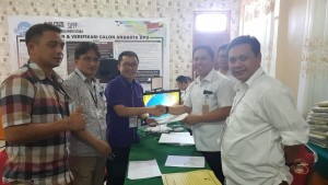 SBAN Liow Memenuhi Syarat Dukungan Calon DPD-RI