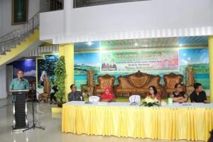 Wali Kota memaparkan kondisi Kota Tomohon kepada Tim Verifikasi Lapangan
