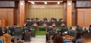 Rapat Paripurna Pengajuan Rancangan Perubahan OPD