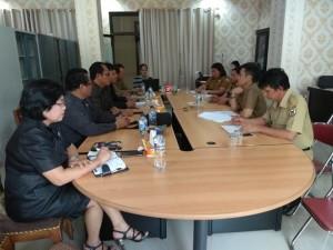 Rapat Pansus dengan Dinas Perkim