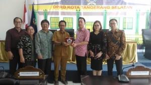 Kunker di DPRD Tangerang Selatan