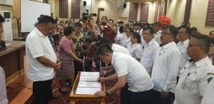 Olly Lantik 37 Pejabat Pemprov Sulut