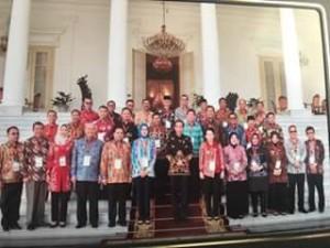 Wali Kota manado, Vicky Lumentut , Presiden Jokowi