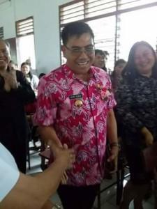 Bupati Minahasa, Drs Royke H Mewoh DEA.Rolling Jabatan minahasa