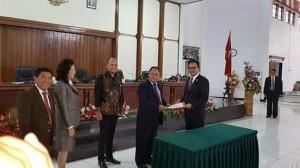 DPRD Minahasa Tetapkan Bupati dan Wakil Bupati Terpilih