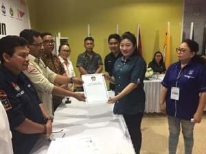 Partai Nasdem Mitra, Pileg 2019, Telly Tjanggulung