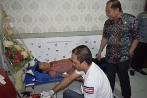 Gelar Donor Darah, Lomban Apresiasi Kejari Bitung