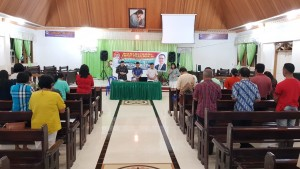 Senator SBAN Liow Sosialisasi Empat Pilar di Minahasa Utara