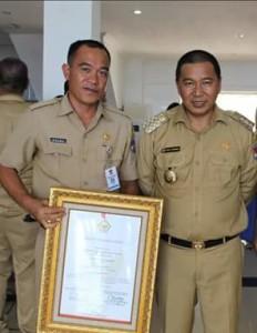 LPPD Minahasa Tenggara, LPPD  mitra 2018, Novry Raco