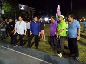 Wali Kota Lumentut Pantau Kesiapan Jelang Puncak Perayaan HUT ke-395 Kota Manado