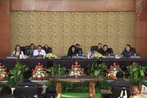 Rapat Paripurna Penandatanganan Nota Kesepakatan Rancangan KUA dan PPAS