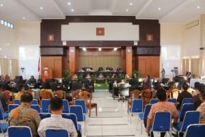Rapat Paripurna Penandatanganan Nota Kesepakatan Rancangan KUA PPAS