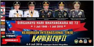 Kejuaraan Tinju Internasional Kapolri Cup II, Pemkot Manado, Manado Fiesta 2018