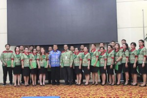 HUT ke-395 Kota Manado,  Lomba Paduan Suara Antar SKPD, Steven Runtuwene SSos