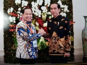 Presiden Joko Widodo, Walikota Bitung ,Maximiliaan J Lomban