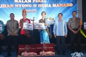 Nyong-Nona Manado 2018, Maynard Senduk,  Blessy ES Tangel