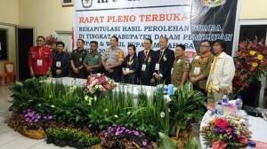 Pilkada Minahasa 2018 , ROR-RD, Pleno Rekapitulasi Suara