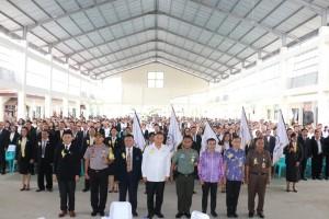 Wali Kota Lantik 1.320 Pengurus LPM Kelurahan se-Kota Tomohon
