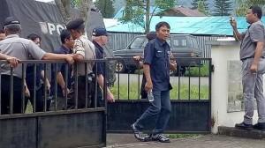 Pleno KPU Minahasa Dijaga Ketat Polri dan TNI