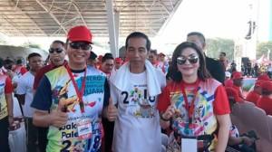 Presiden Jokowi, Sahabat Rakyat Indonesia , Christiany Eugenia Paruntu, Jalan Sehat