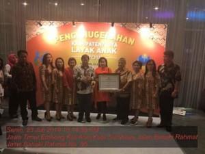 Kabupaten Layak Anak 2018, Bupati Minahasa Tenggara ,James Sumendap SH,