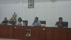 Sekda Jeffry Korengkeng Pimpin Rapat Panitia HUT RI ke-73