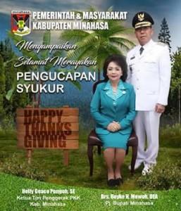 pengucapan Syukur, pengucapan minahasa,  Drs Royke H Mewoh DEA