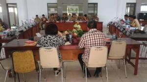 TAPD dan Banggar DPRD Minsel Bahas Ranperda Pertanggungjawaban Pelaksanaan APBD 2017