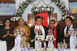 Perayaan HUT ke-72 GMIm baitlahim Talete