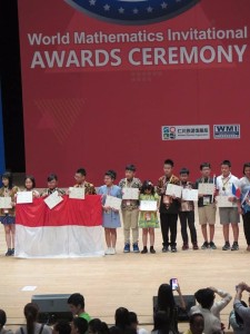 Gold Medal di World Mathematics Invitational 2018, Taro Roeroe Harumkan Tomohon