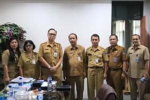 Tim LPPD Inspektorat dan BPK Sulut Kunjungi Pemkot Manado