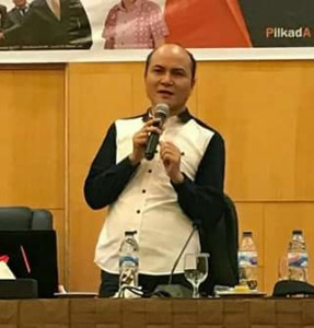 Komisioner KPU Sulut Korwil Minahasa, Meidy Tinangon,Pilkada Minahasa 2018