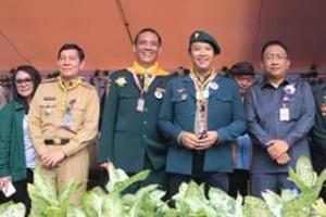 Vicky Lumentut , Menpora Imam Nahrawi ,2nd Indonesia Pathfinder Camporee, unklab manado