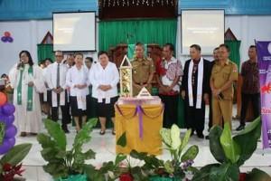 Wabup FDW Hadiri Ibadah Syukur HUT ke-130 GMIM Kanaan Boyong Atas