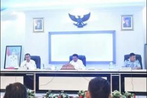 Wakil Walikota Bitung, Ir Maurits Mantiri MM, Tim Pengawasan Orang Asing,